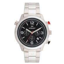 Reloj Aimant Kotor Plateado con Negro