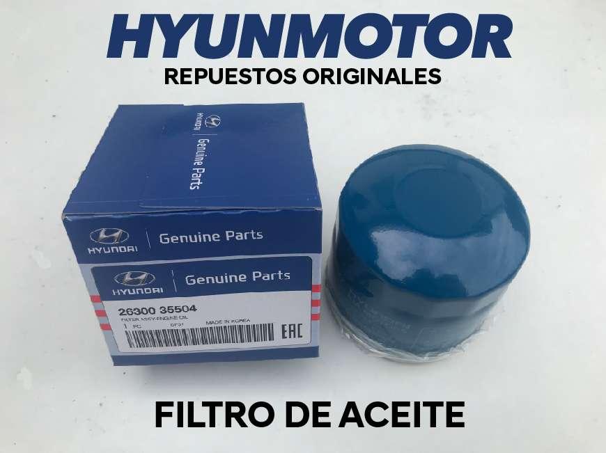 Filtro de Aceite para Hyundai varios Modelos