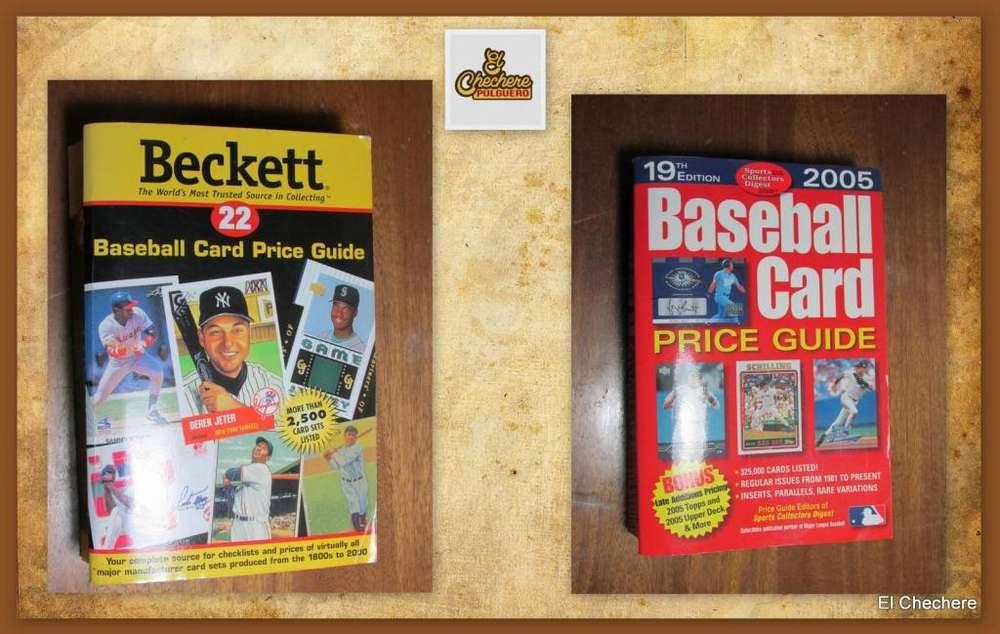 2 catalogos para evaluar cartas de baseball