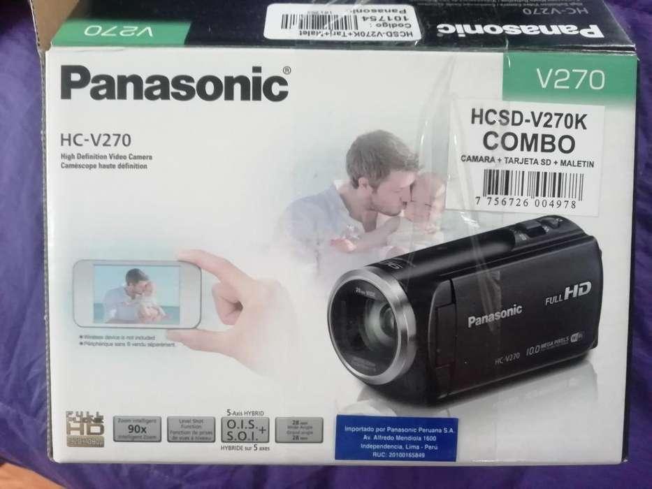 VIDEOCMARA HD HCV270 PANASONIC