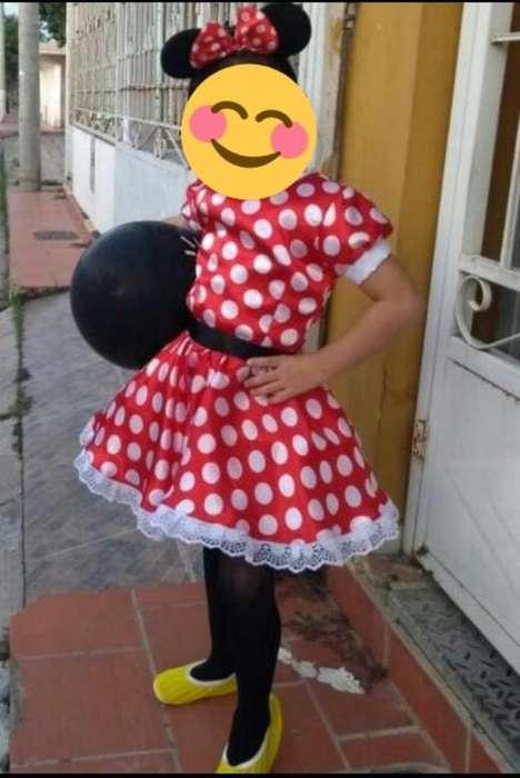 Hermoso Disfraz de Minnie