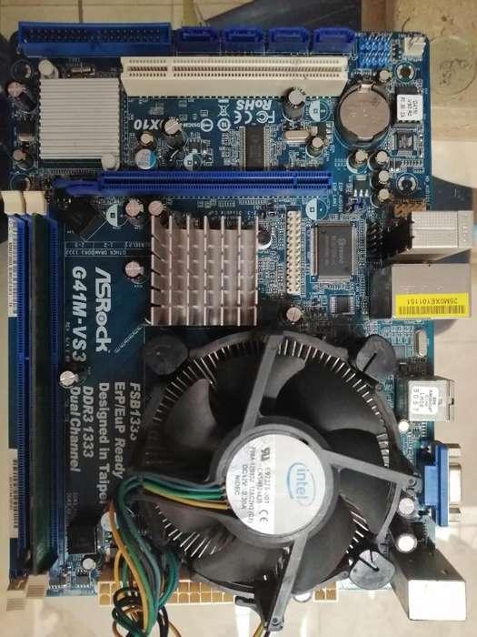 Combo Ddr3, Board,procesador,ram,fuente