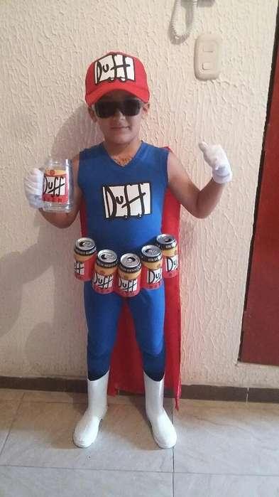 Disfraz Duff Man