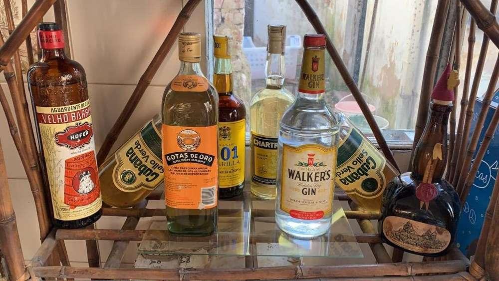 Lote Bebidas Añejas (Alcoholicas)