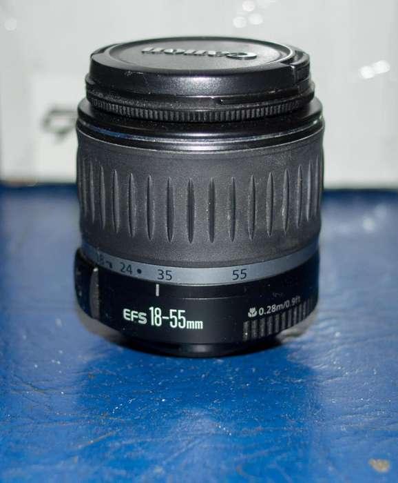 Lente Canon Efs 18-55