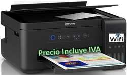 Impresora Epson L395 L3150 L4150 Sistema Tinta Continua Original Wifi PRECIO INCLUYE IVA ENTREGA A DOMICILIO