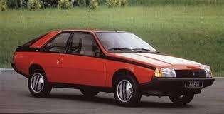 Renault Fuego  1983 - 123 km