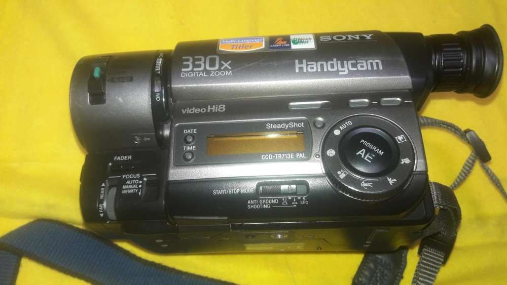 Filmadora Sony Handycam Hi8