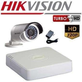 Kit Cámara De Vigilancia Y Seguridad Hikvision Hd