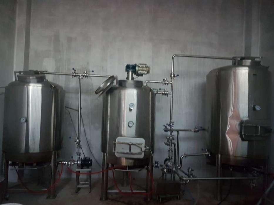 Vendo Planta de Cerveza de 1000 Litros