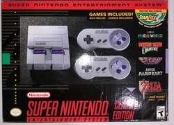 Super Nintendo NUEVO