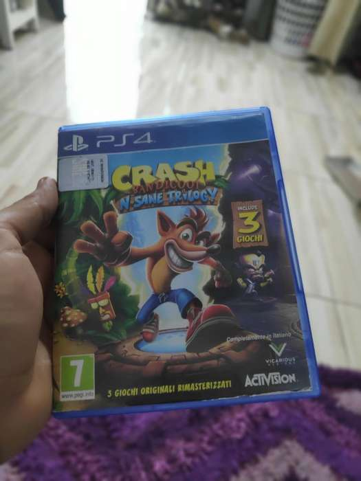 Vendo Juego Ps4 Crash Trilogy