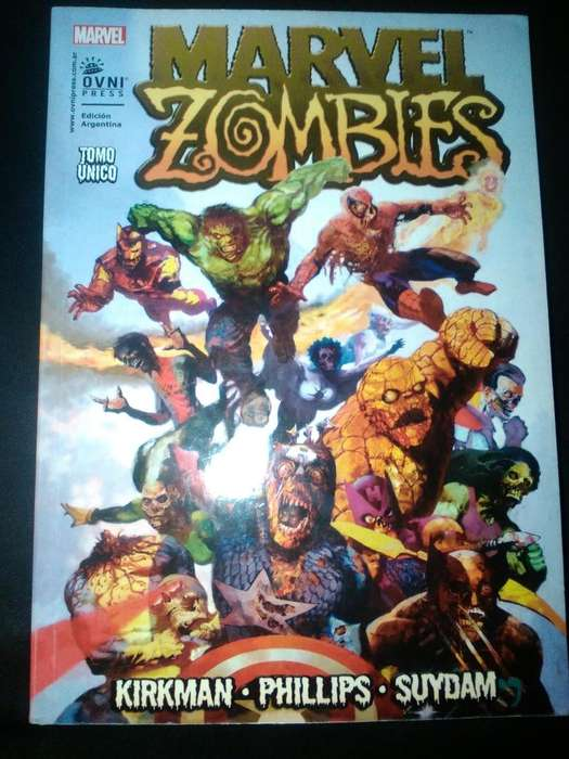 Lote comics marvel zombie, deadpool vs carnage, the walking dead 1, rubius virtual hero, deadpool mata deadpool