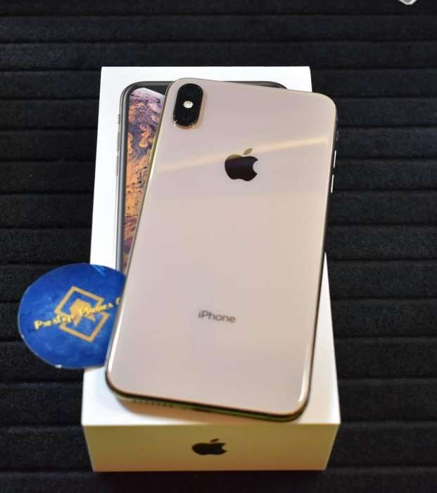 Iphone Xs Max Gold Liberado de fabrica Nuevo 64GB Garantia en Apple vigente