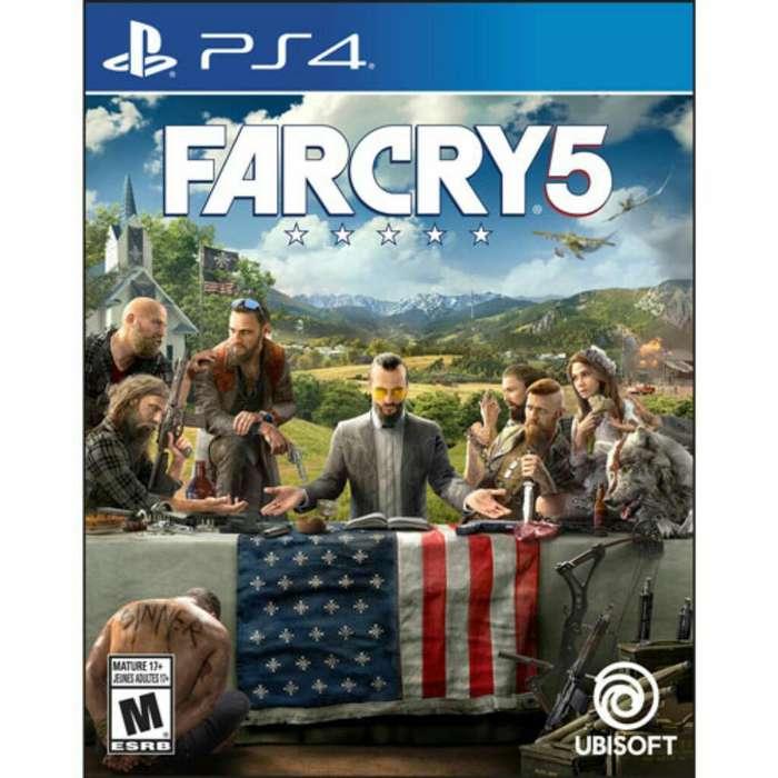 Far Cry 5 Ps4 Nuevo