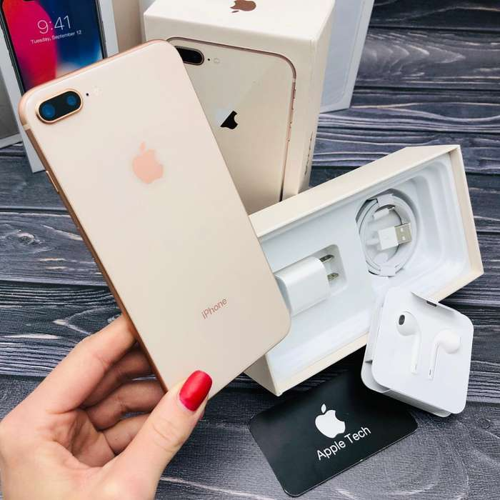 iPhone 8 Plus 256 Gb Gold 10/10