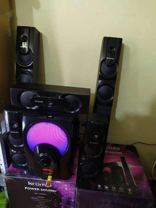 teatro en casa 5.1 CON BLUETOOTH USB RADIO ENTRADA DVD Y ENTRADA