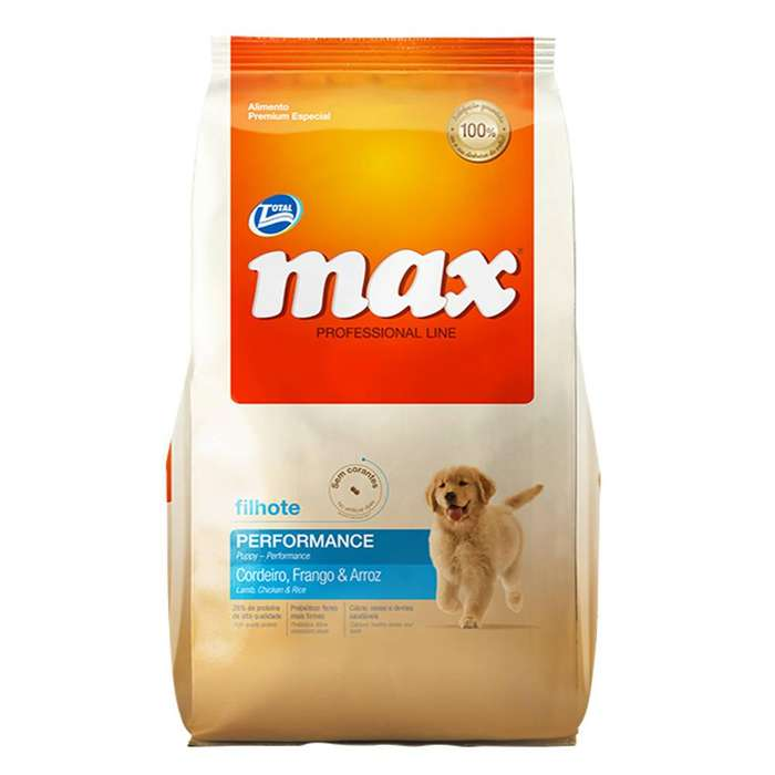 Comida para perro Max cachorro performance pollo 20 kg