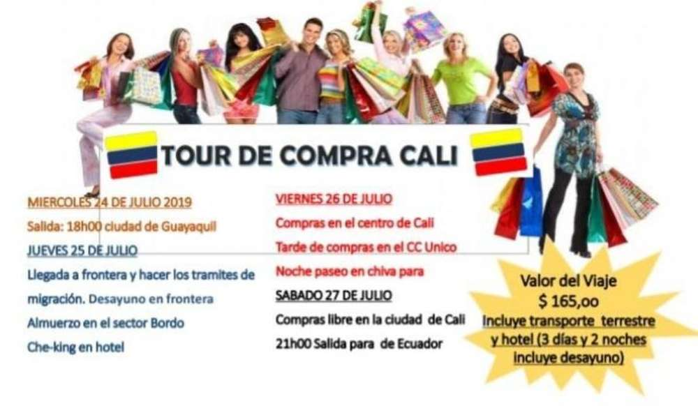 Tour a Cali - Colombia Julio/2019