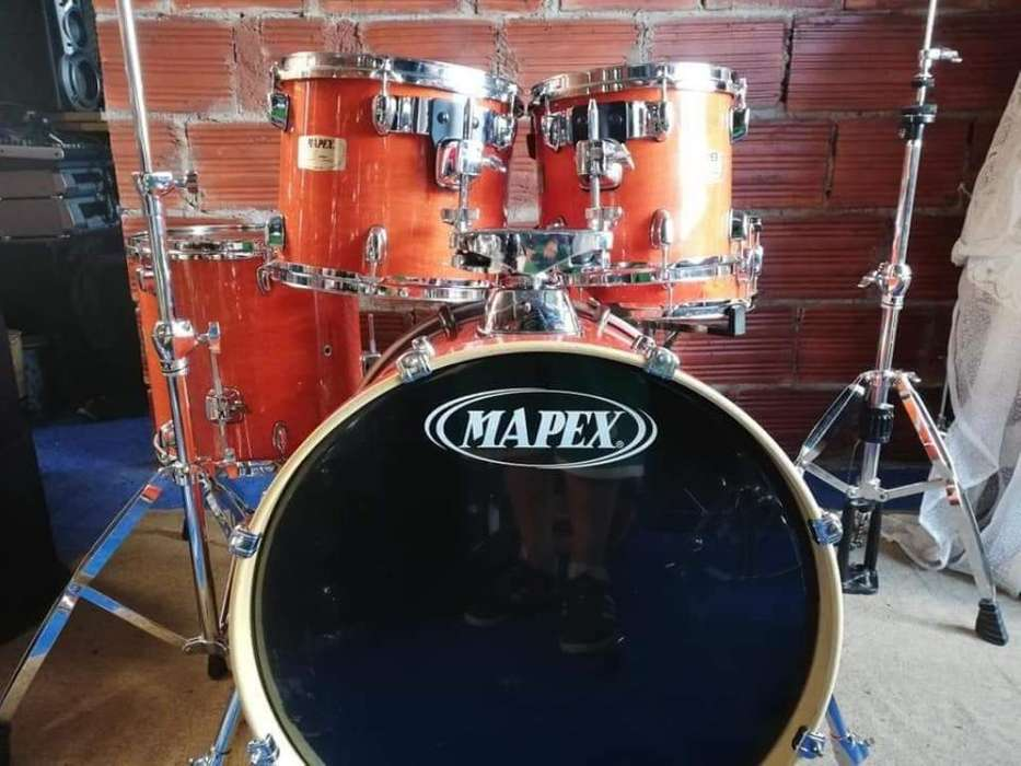 Batería Mapex M Birch Honey Amber