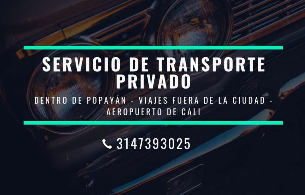 Servicio de Transporte Privado Popayán