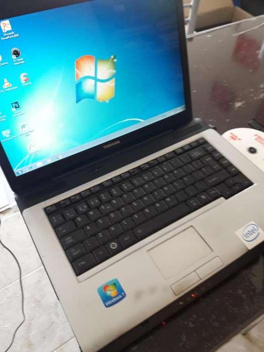NOTEBOOK TOSHIBA T3200 SUAL CORE 03 MESES DE GARANTIA