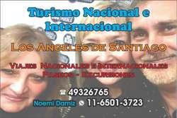 VIAJES Y EXCURSIONES AL INTERIOR Y AL EXTERIOR 25 AÑOS EN EL RUBRO TURISTICO