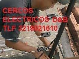 INSTALACIONES Y REPARACIONES EN CERCADOS ELÉCTRICOS SERVICIO TÉCNICO TLF 3219021610