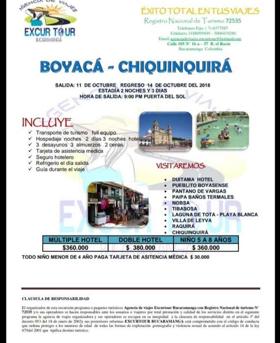 Tour Boyacá- Chiquinquirá