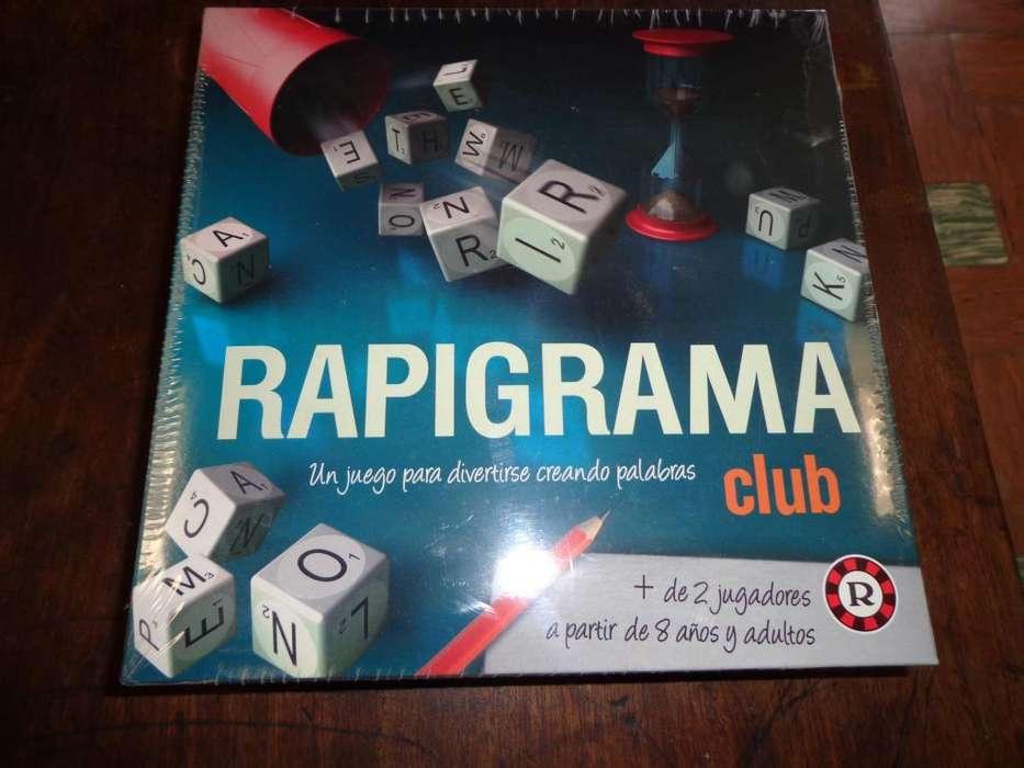 Rapigrama Club Juego De Mesa Ruibal
