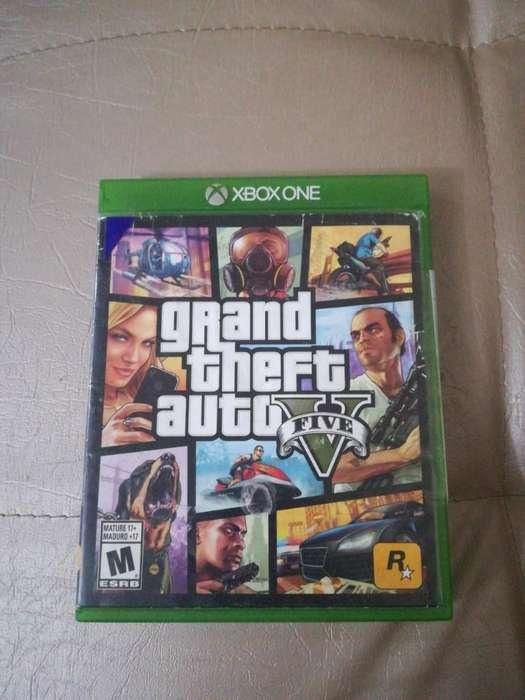 Vendo Gta5 Xbox One 10/10 Negociable