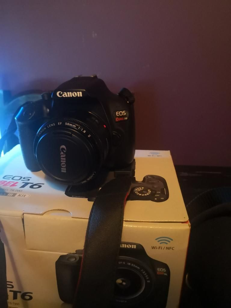 Canon T6 BODY ONLY