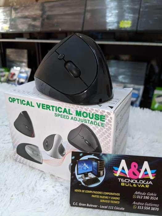 Mouse Vertical Inalámbrico