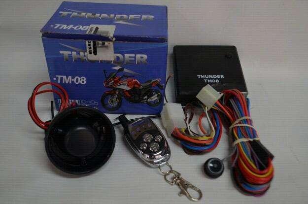 Instalación de alarma para moto