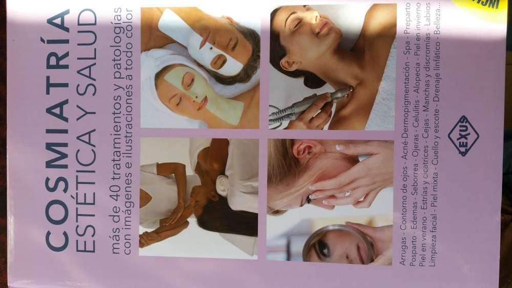 Libro Cosmiatria estetica y salud.Incluye <strong>dvd</strong> profesional