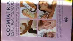 Libro Cosmiatria estetica y salud.Incluye dvd profesional