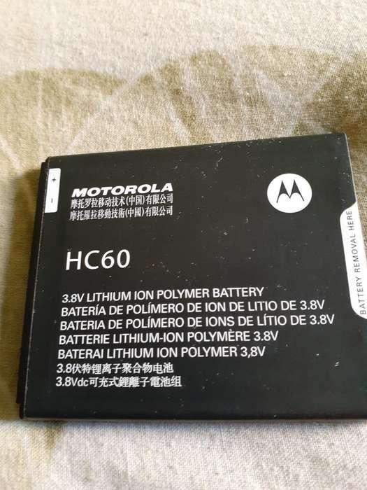 Vendo Batería Cel Hc 60 Moto Plus Nuevo