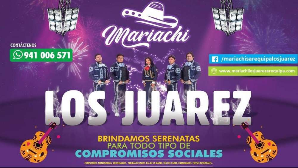 MARIACHIS AREQUIPA LOS JUAREZ 941006571