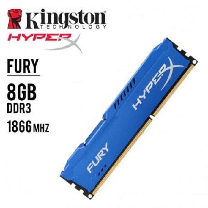 <strong>memoria</strong> Ram Hyperx 8gb Ddr3