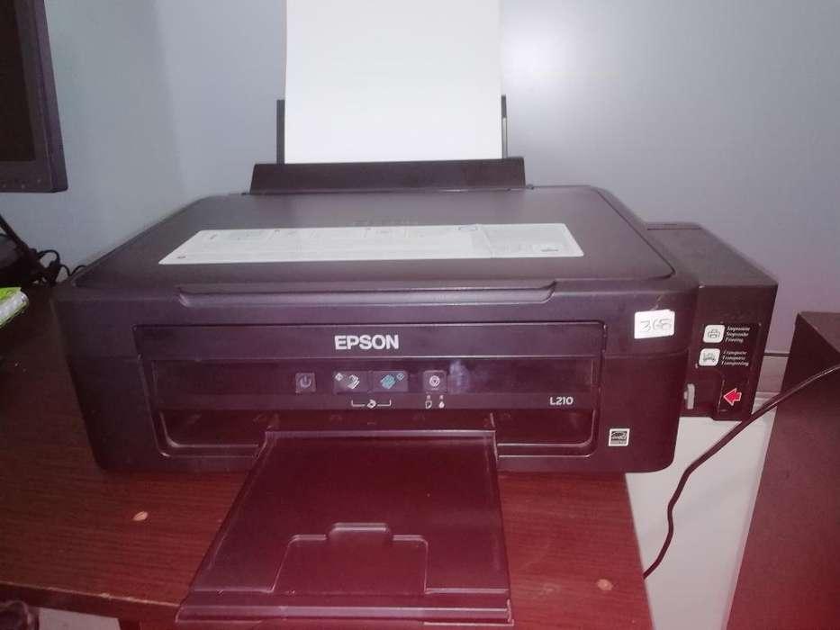 Impresora Epson L210 - Recarga Continua