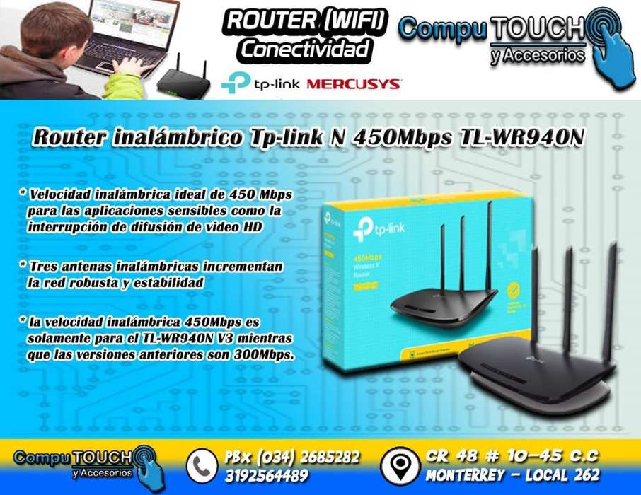ROUTER TP LINK 3 ANTENAS