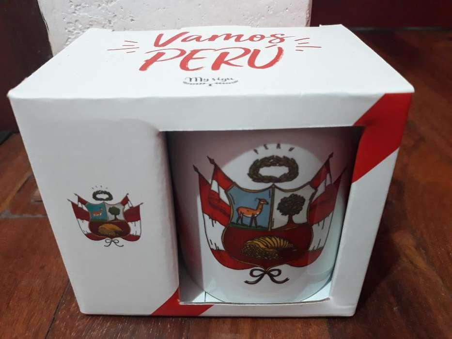 Taza Peru Edicion Especial Mundial Rusia