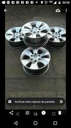 Vendo Aros 17 Toyota Hilux