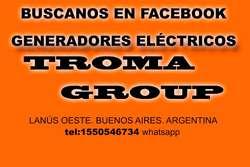 Generador Electrico, grupo electrogeno Lusqtoff 3500watts aceite honda
