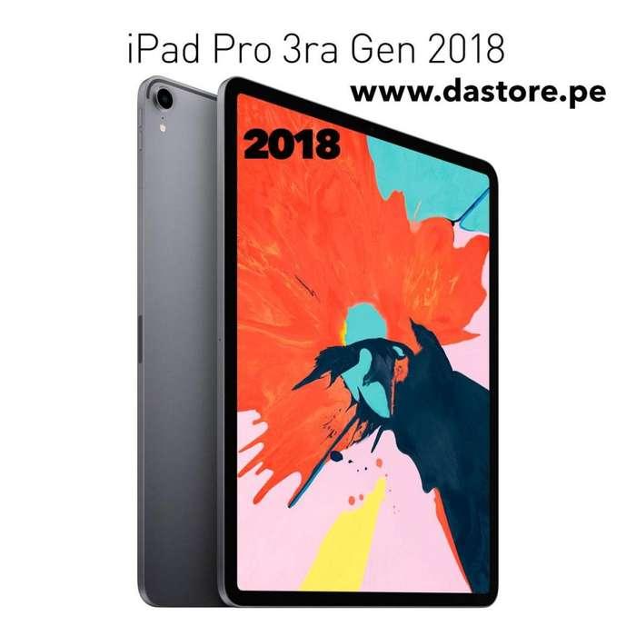 iPad Pro 11 12.9 64gb 256gb 512gb Wifi 4G LTE 3era Generación Garantía Oferta!!!