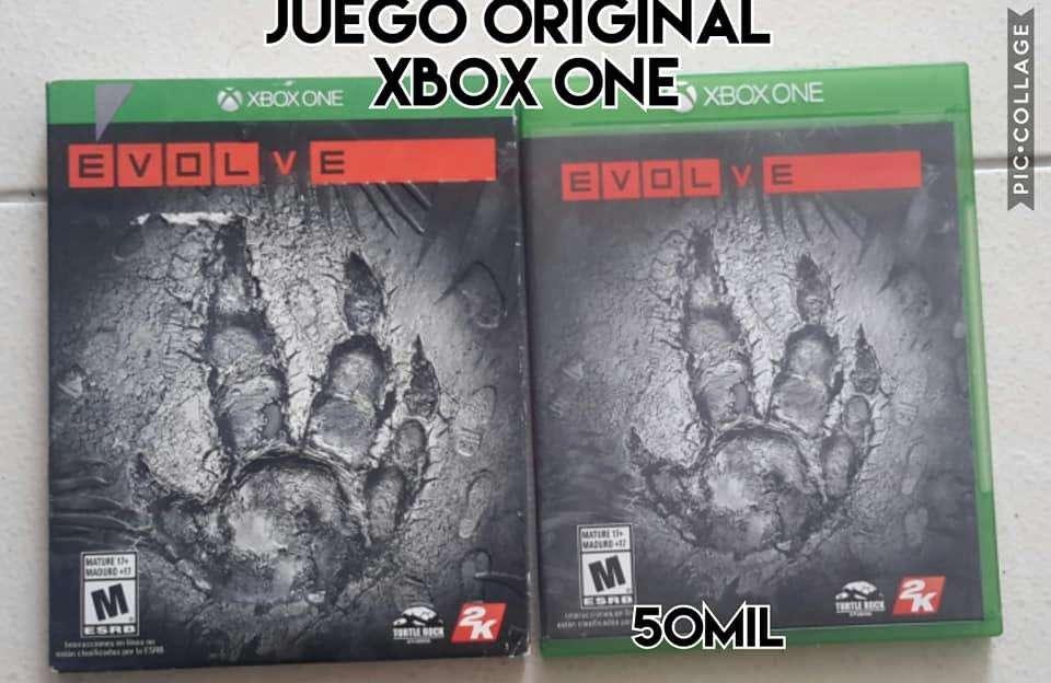 juego original de xbox one evolve precio fijo