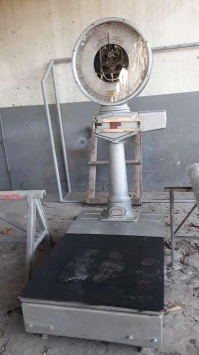 Balanza Bascula Reloj 750 Kg