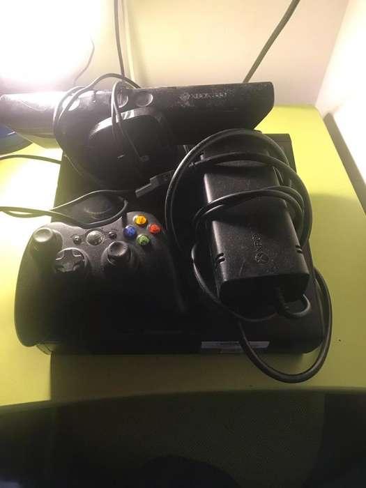Xbox 360 con Kinect Usado Negociable