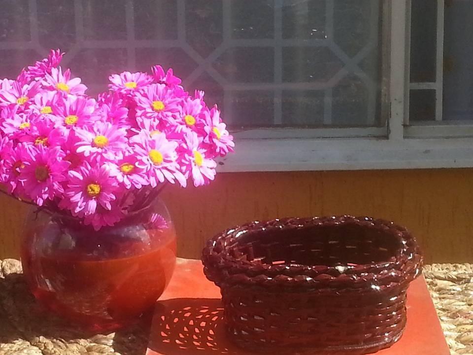 canasta para floristeria.