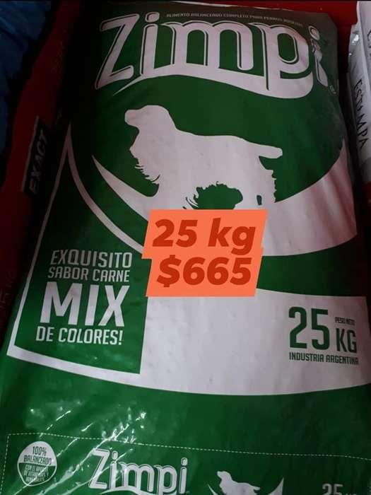 Alimentos balanceados para perros por 25 kilos!!